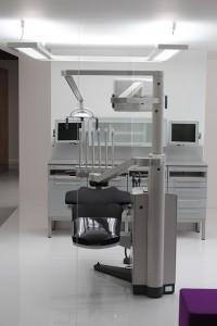éclairage au cabinet dentaire