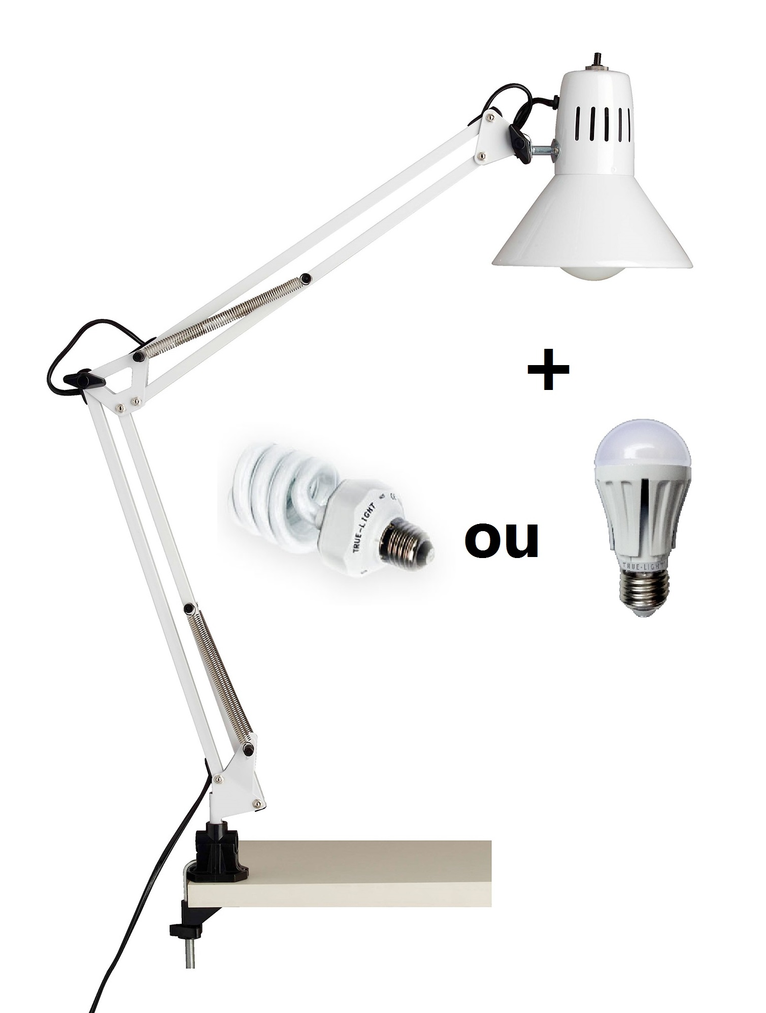 Confinement lampe de bureau True-Light