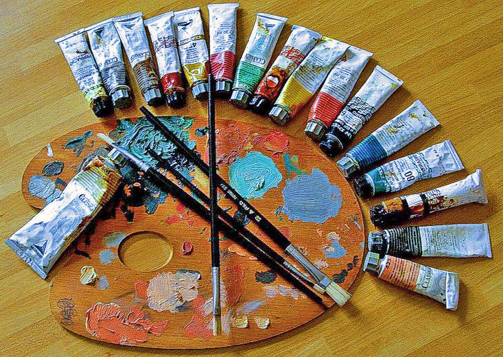 éclairage pour artiste peintre