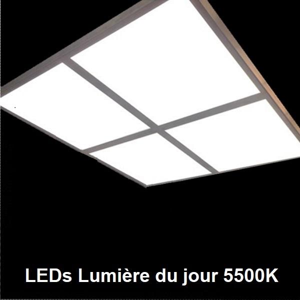 Dalle LED lumière du jour